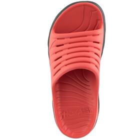 Hoka One One Ora Recovery Slide 2 Chaussures Femme, ebony/emberglow